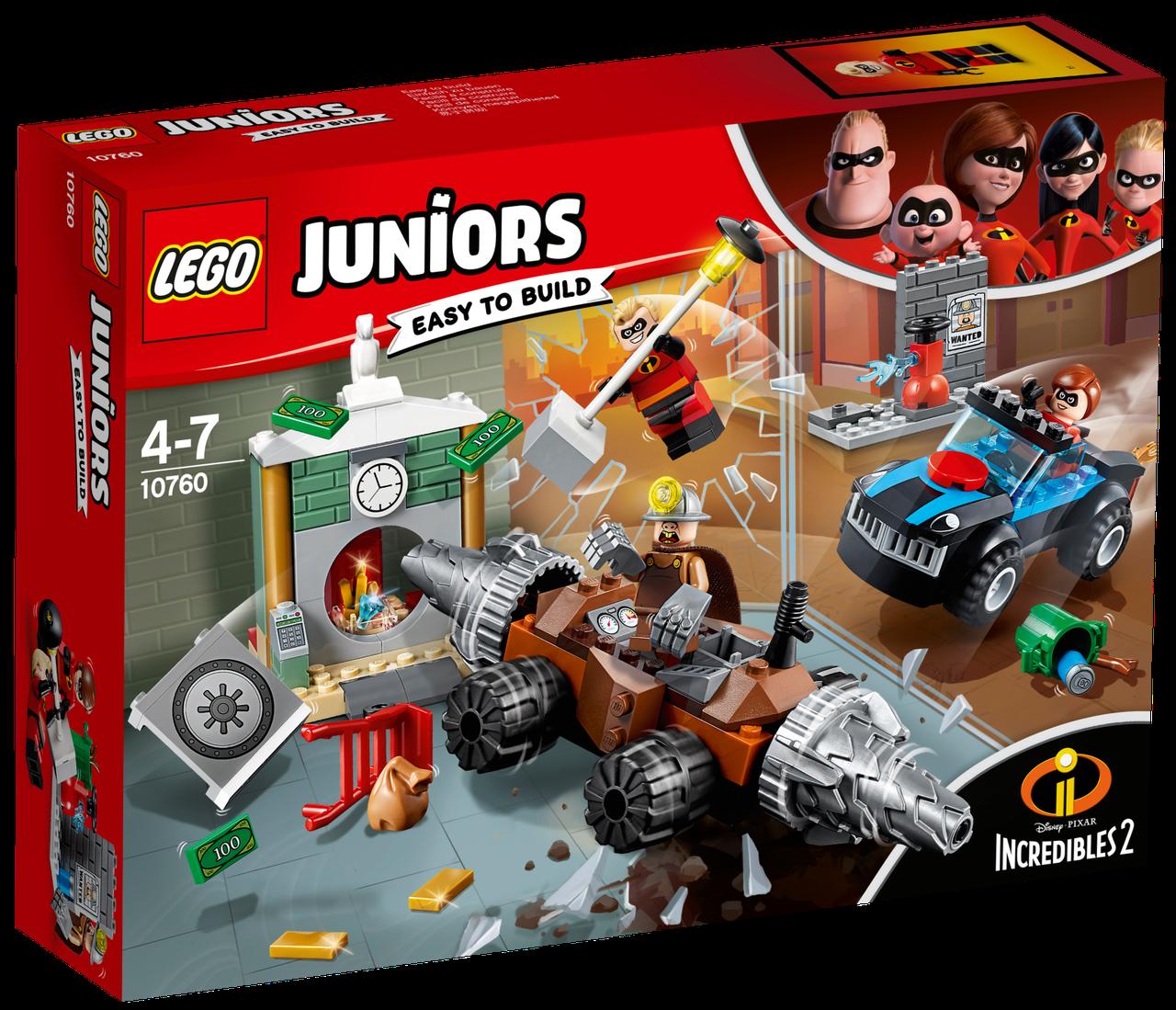 Lego Juniors Подрывашкин грабит банк 10760