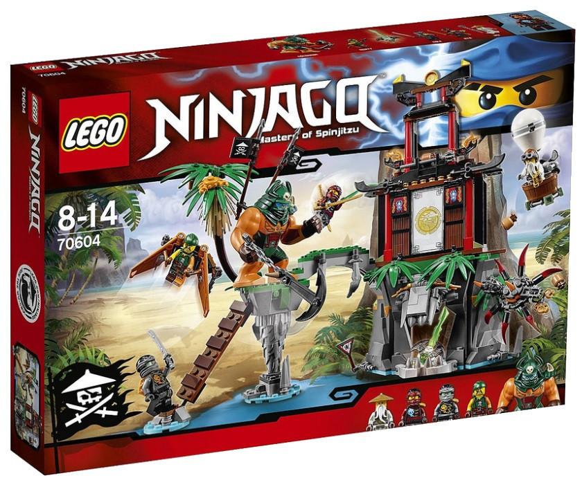Lego Ninjago Тигровый остров вдов 70604
