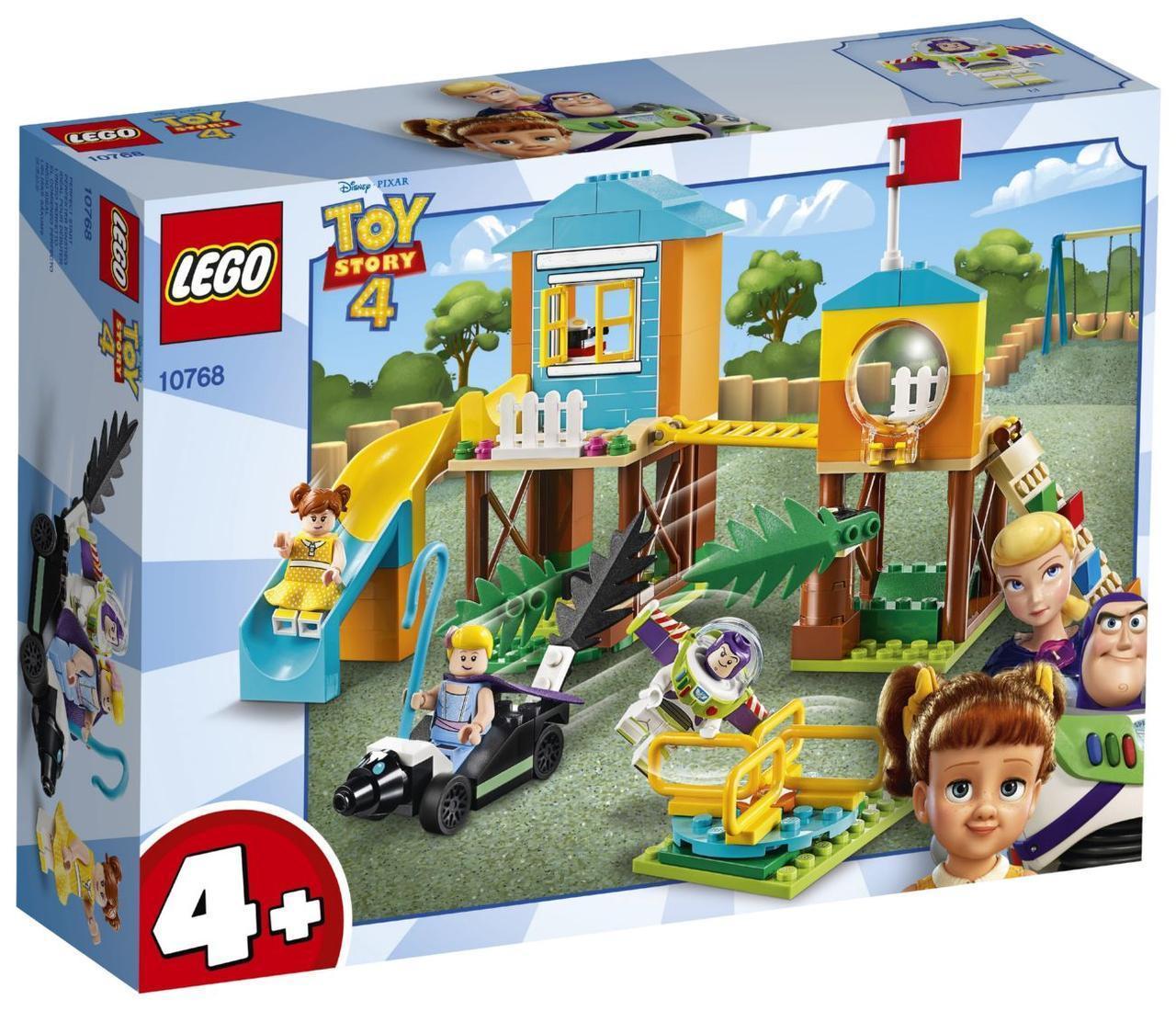 Lego Toy Story 4 Приключения Базза и Бо Пип на детской площадке 10768