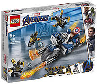 Lego Super Heroes Капитан Америка: Атака Аутрайдеров Лего 76123