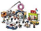 Lego City Открытие магазина по продаже пончиков 60233, фото 4