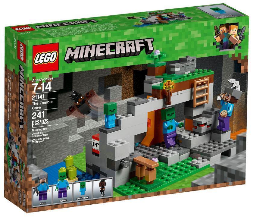 Lego Minecraft Пещера зомби 21141