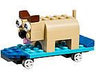 Lego Classic Кубики и колеса 10715, фото 7