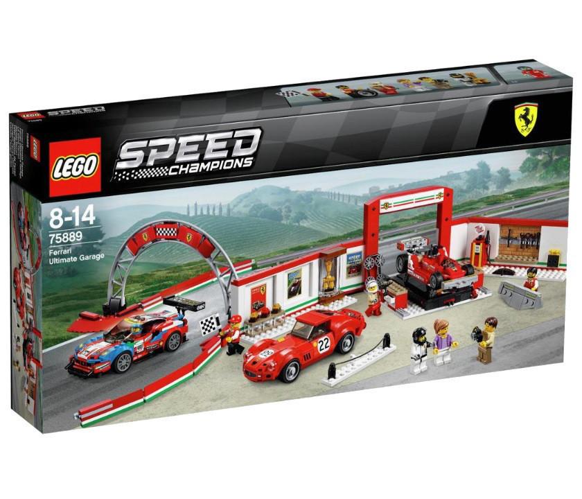 Lego Speed Champions Гараж Феррари 75889