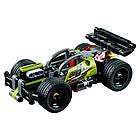 Lego Technic БУМ! Зеленый гоночный автомобиль 42072, фото 3