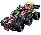 Lego Technic БУМ! Зеленый гоночный автомобиль 42072, фото 7