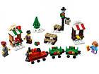 Lego Iconic Новогодний мини-поезд 40262, фото 3