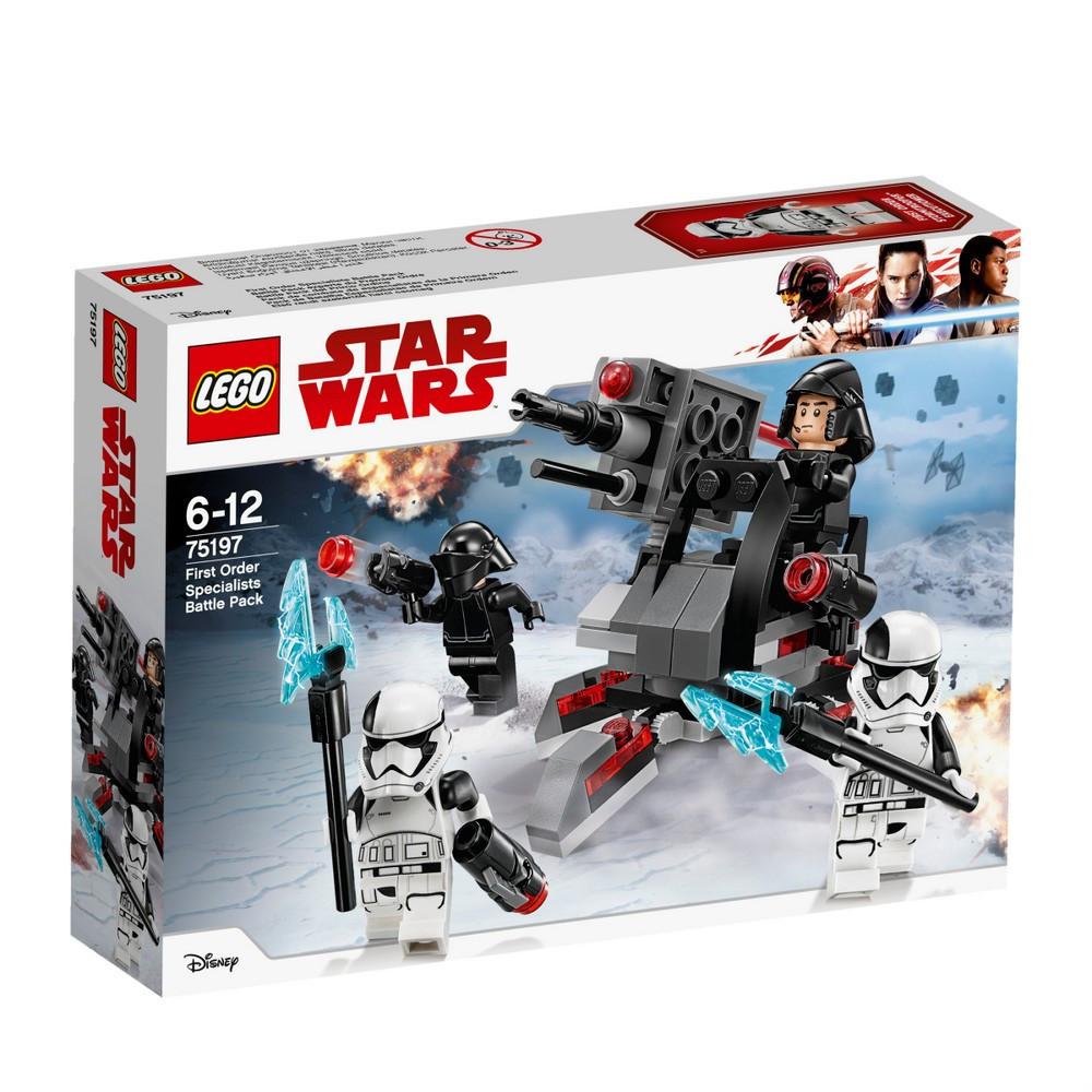 Lego Star Wars Боевой комплект специалиста Первого Ордена 75197