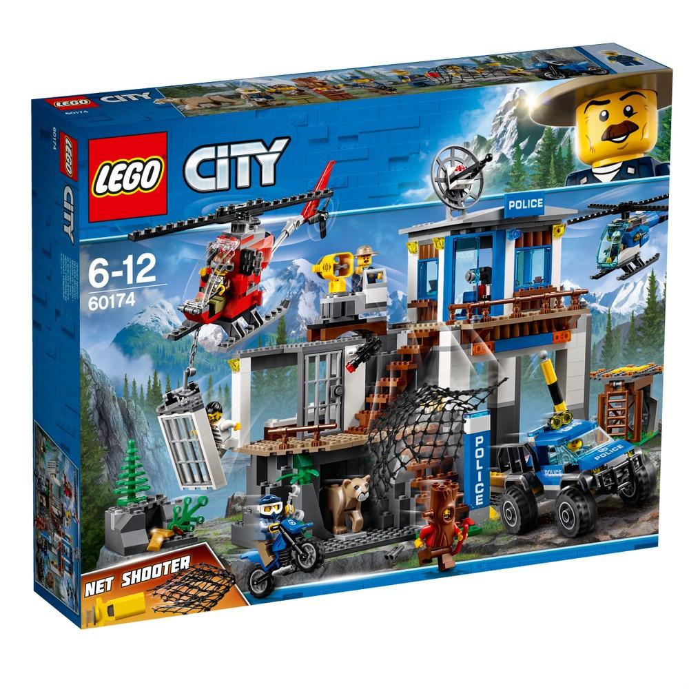 Lego City Штаб-квартира горной полиции 60174