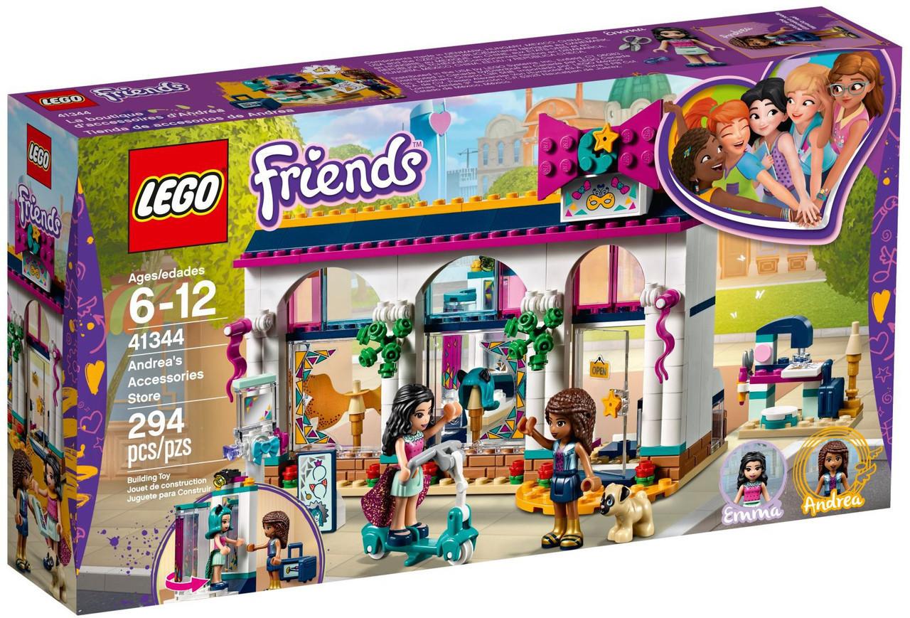 Lego Friends Магазин аксессуаров Андреа 41344