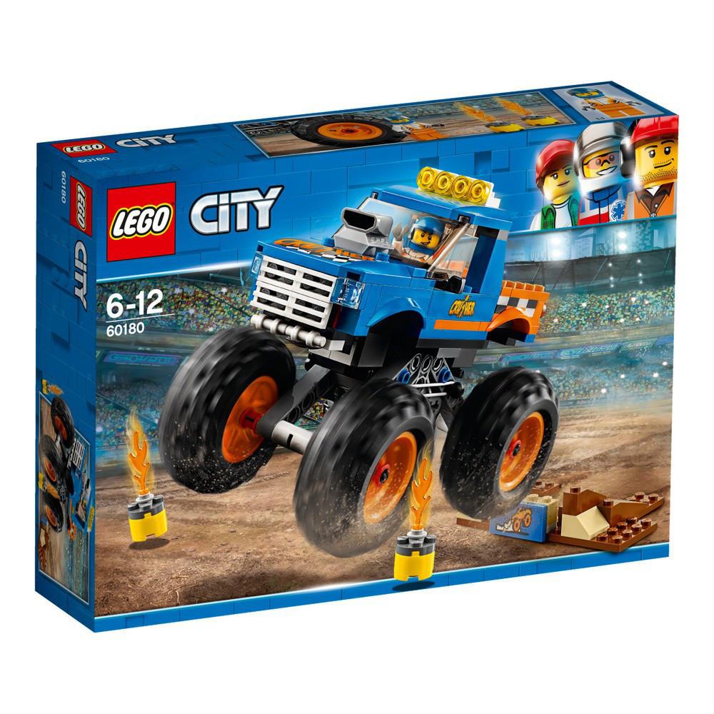 Lego City Грузовик-монстр 60180