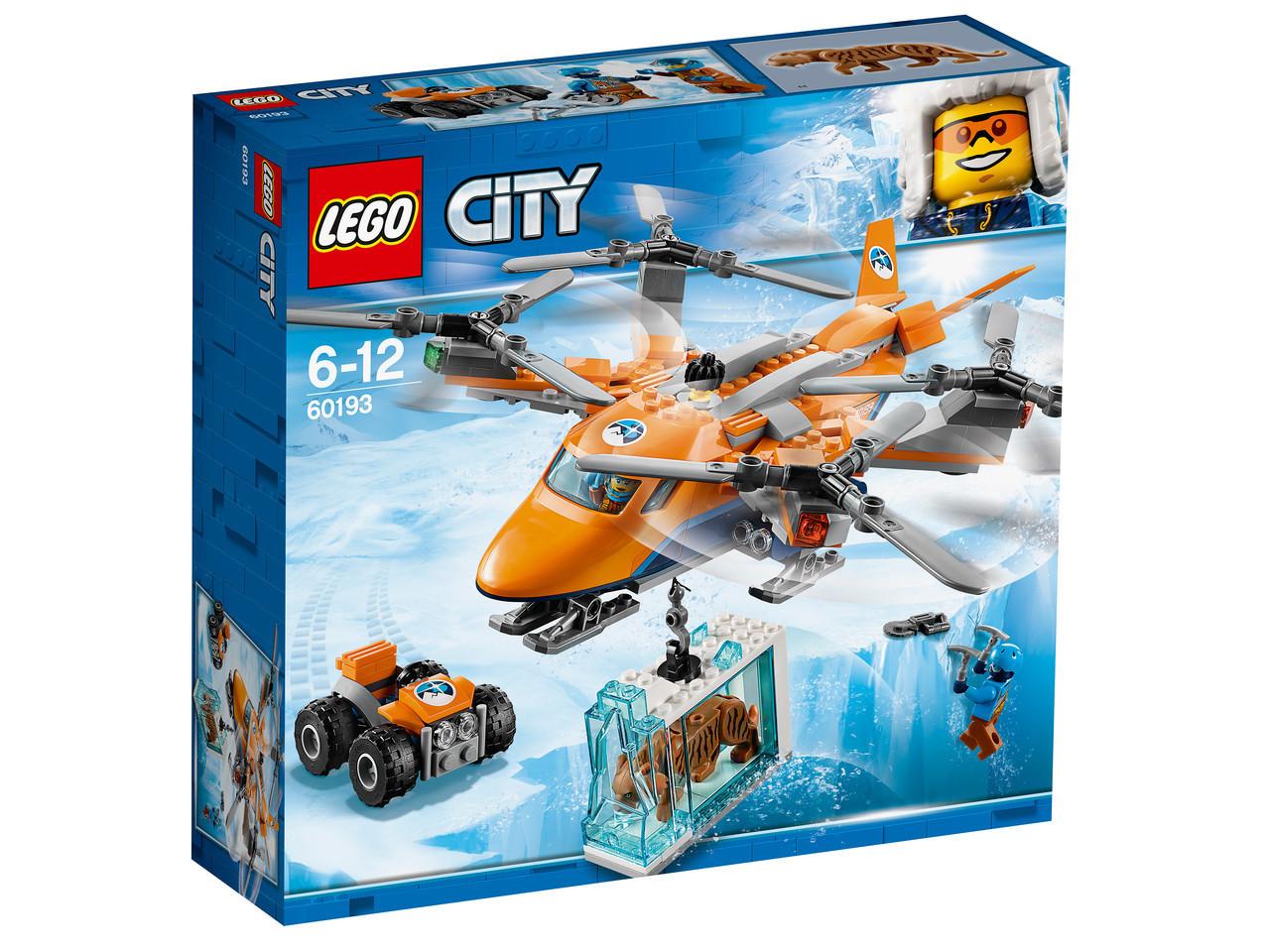Lego City Арктическая экспедиция: Арктический вертолёт 60193