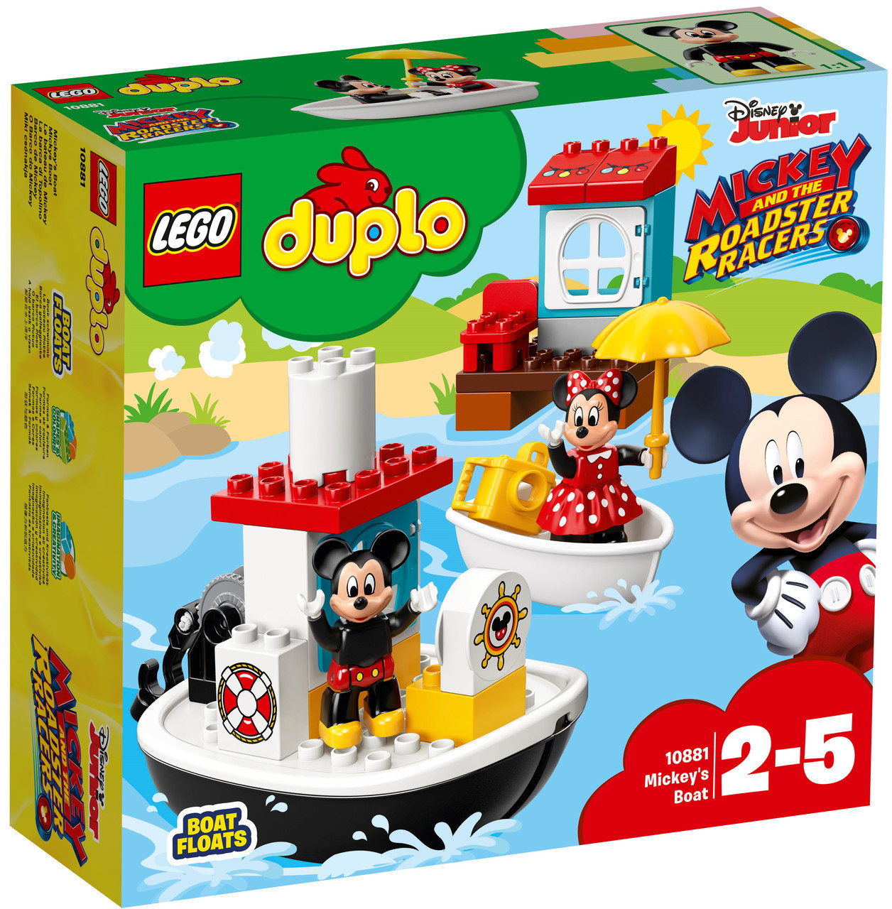 Lego Duplo Катер Микки 10881