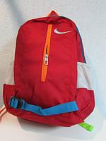 Рюкзак Найк 0447 красный с разноцветными ремешками код 498А