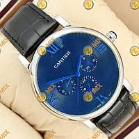 Часы Cartier Asian Silver/Blue
