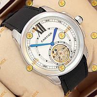 Часы Cartier Calibre de Cartier Tourbillon Silver/White