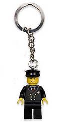 Lego City Брелок Пилот 851746