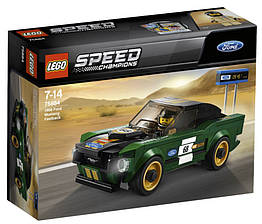 Lego Speed Champions 1968 Форд Мустанг Фастбэк 75884