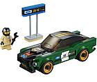 Lego Speed Champions 1968 Форд Мустанг Фастбэк 75884, фото 4