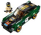 Lego Speed Champions 1968 Форд Мустанг Фастбэк 75884, фото 5