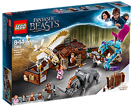 Lego Harry Potter Чемодан Ньюта Саламандера 75952