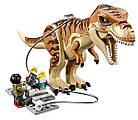 Lego Jurassic World Транспорт для перевозки Тираннозавра 75933, фото 4