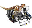 Lego Jurassic World Транспорт для перевозки Тираннозавра 75933, фото 5