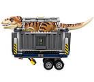 Lego Jurassic World Транспорт для перевозки Тираннозавра 75933, фото 7