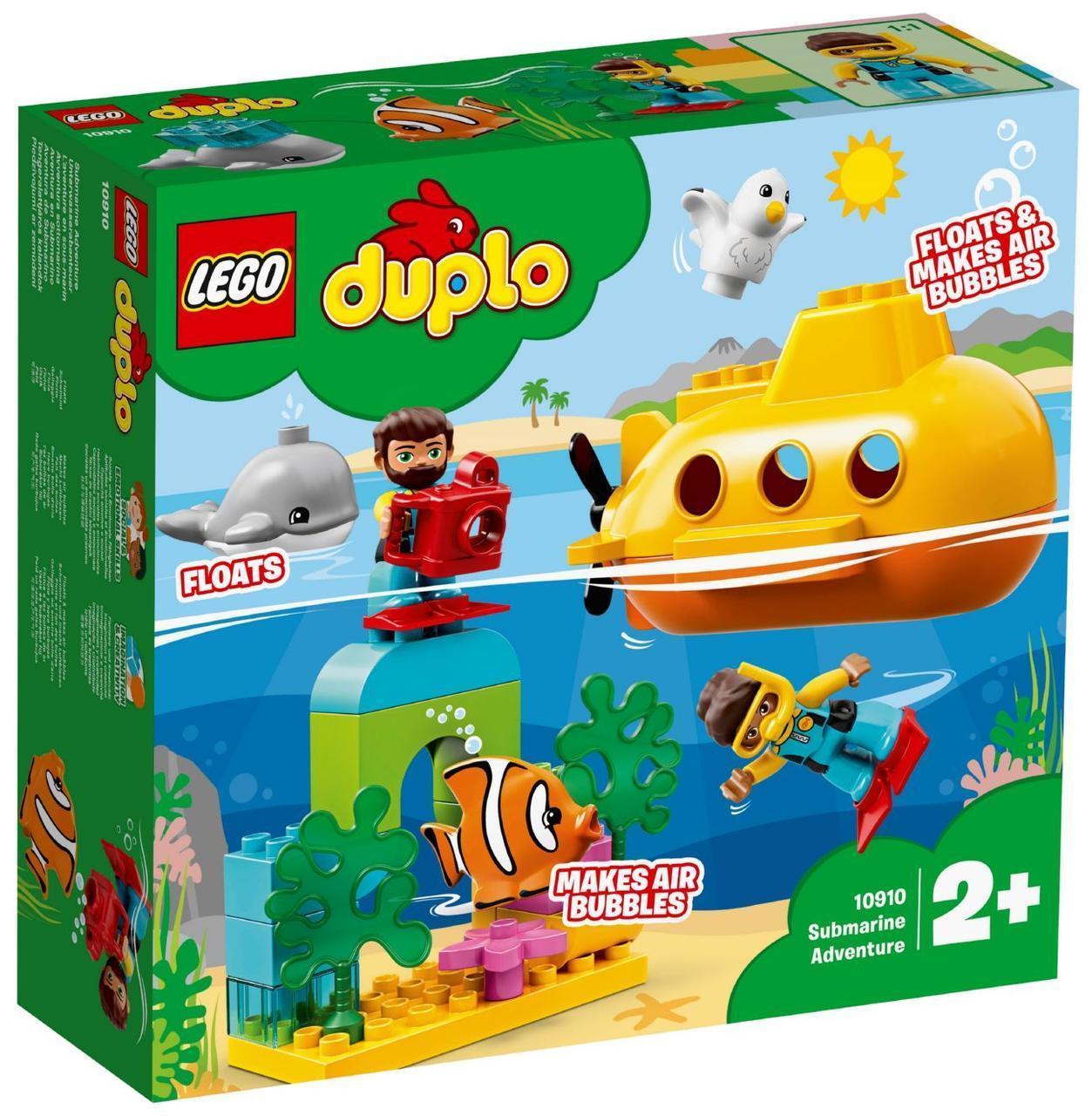 Lego Duplo Путешествие субмарины 10910