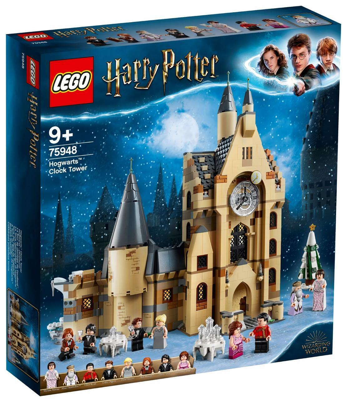 Lego Harry Potter Часовая башня Хогвартса 75948