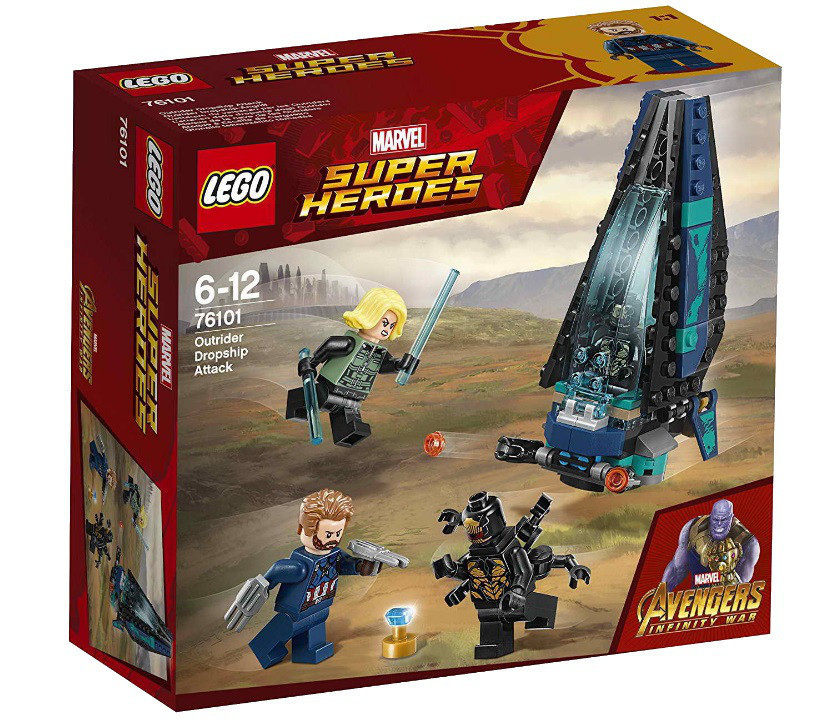 Lego Super Heroes Война бесконечности: Атака всадников 76101