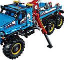 Lego Technic Полноприводный шестиколесный тягач 6х6 42070, фото 6