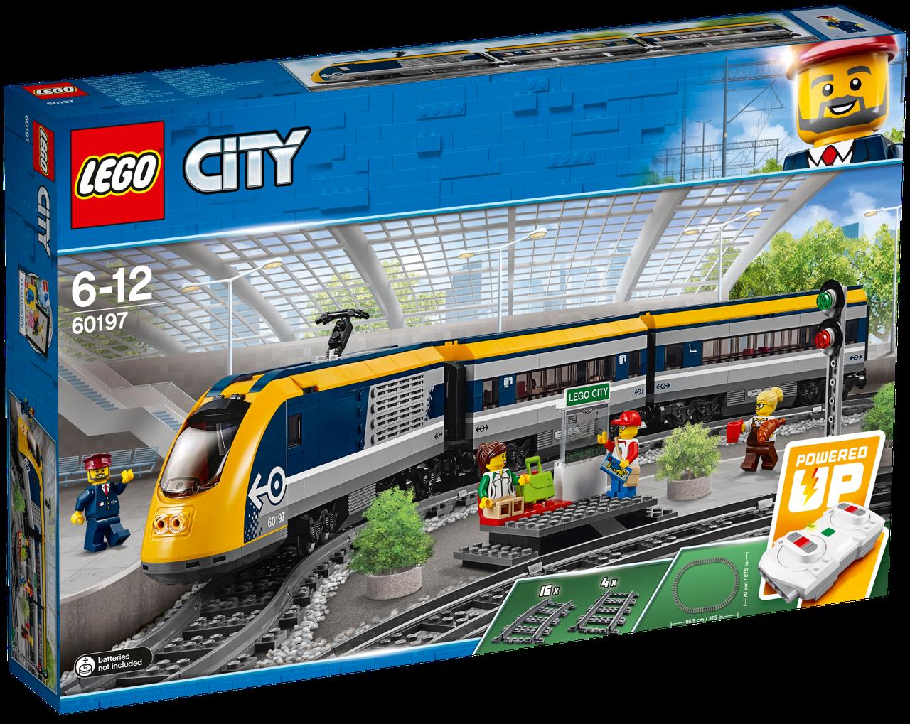 Lego City Пассажирский поезд 60197