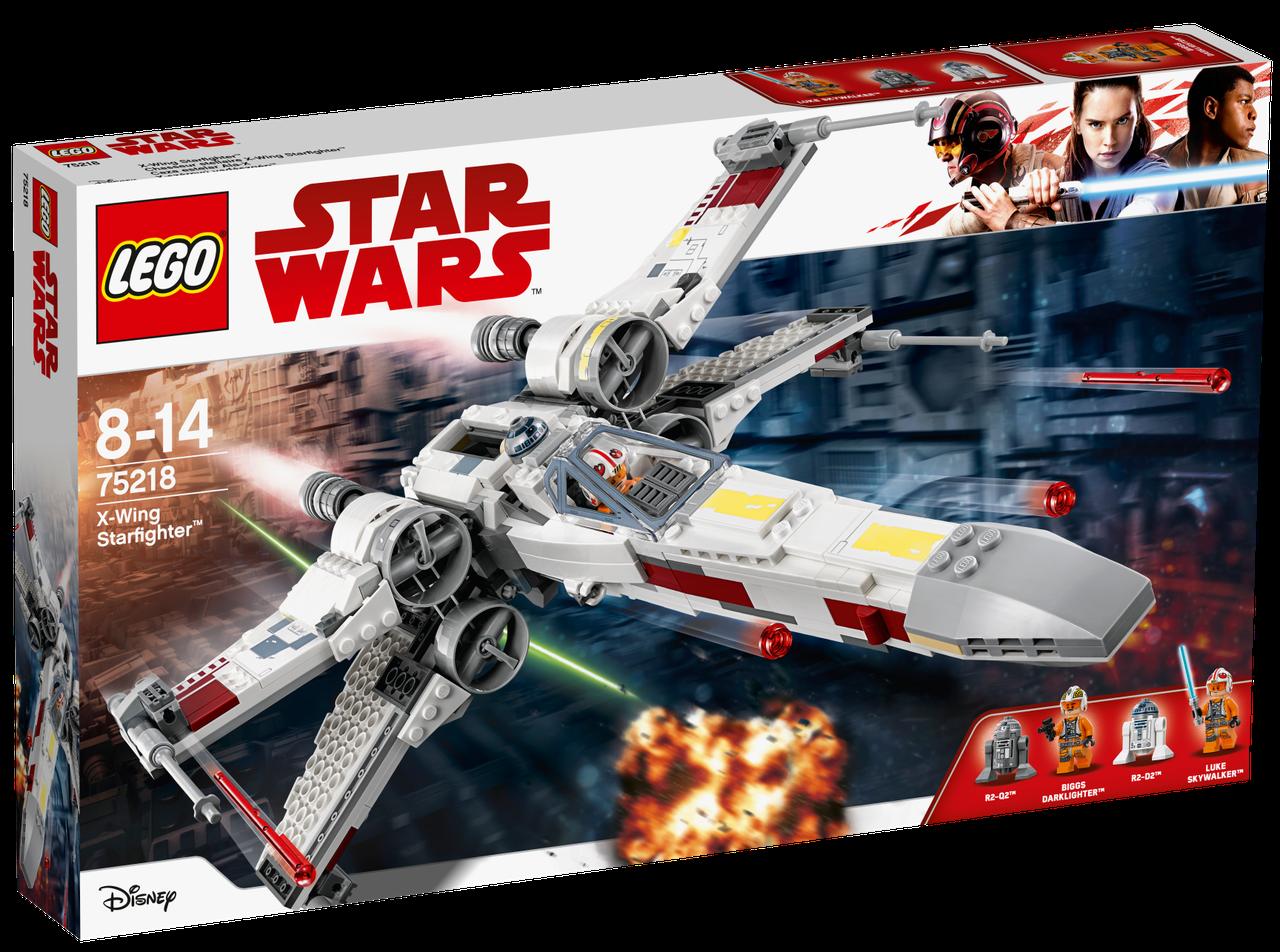 Lego Star Wars Звёздный истребитель X-wing 75218