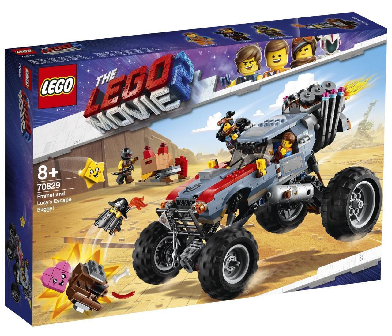 Lego Movie 2 Побег Эммета и Дикарки на багги 70829