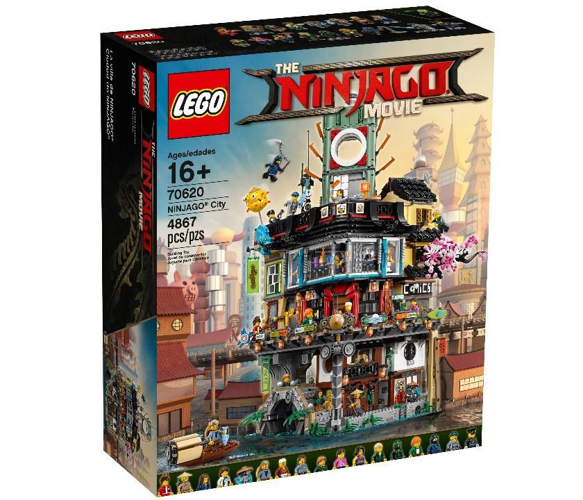 The Lego Ninjago Movie Ниндзяго Сити 70620