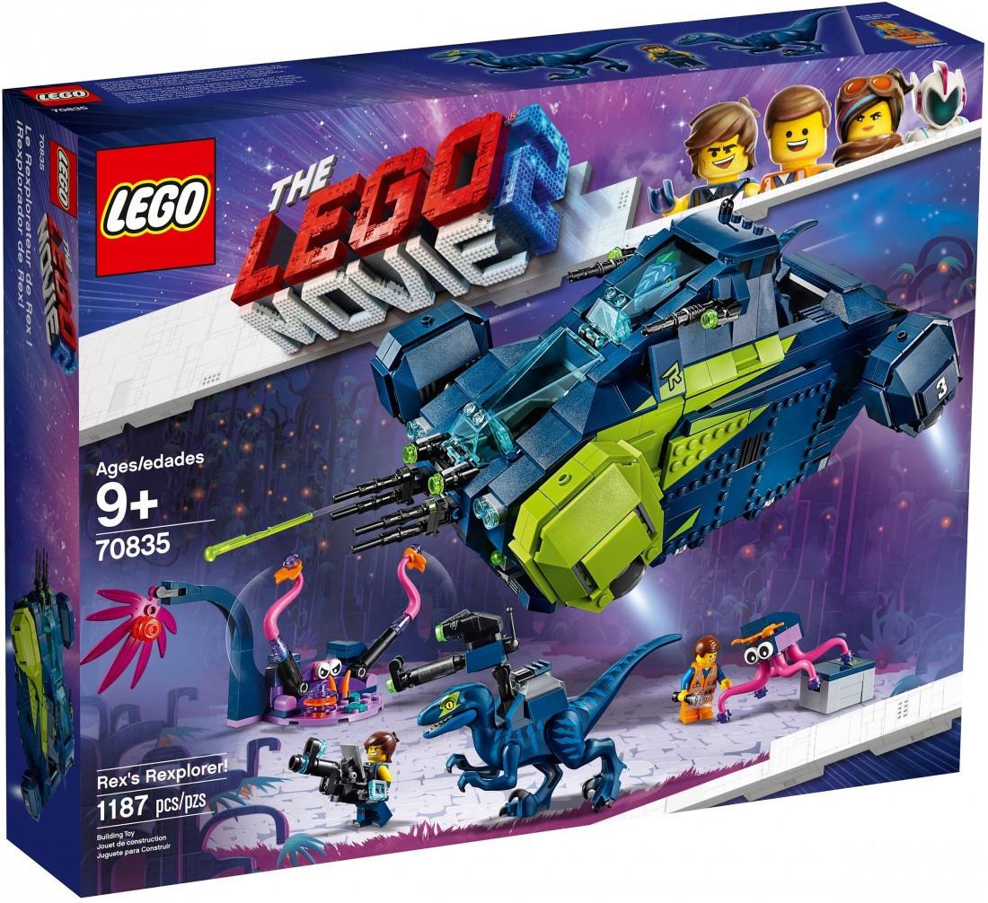 Lego Movie 2 Рэксследователь Рэкса 70835
