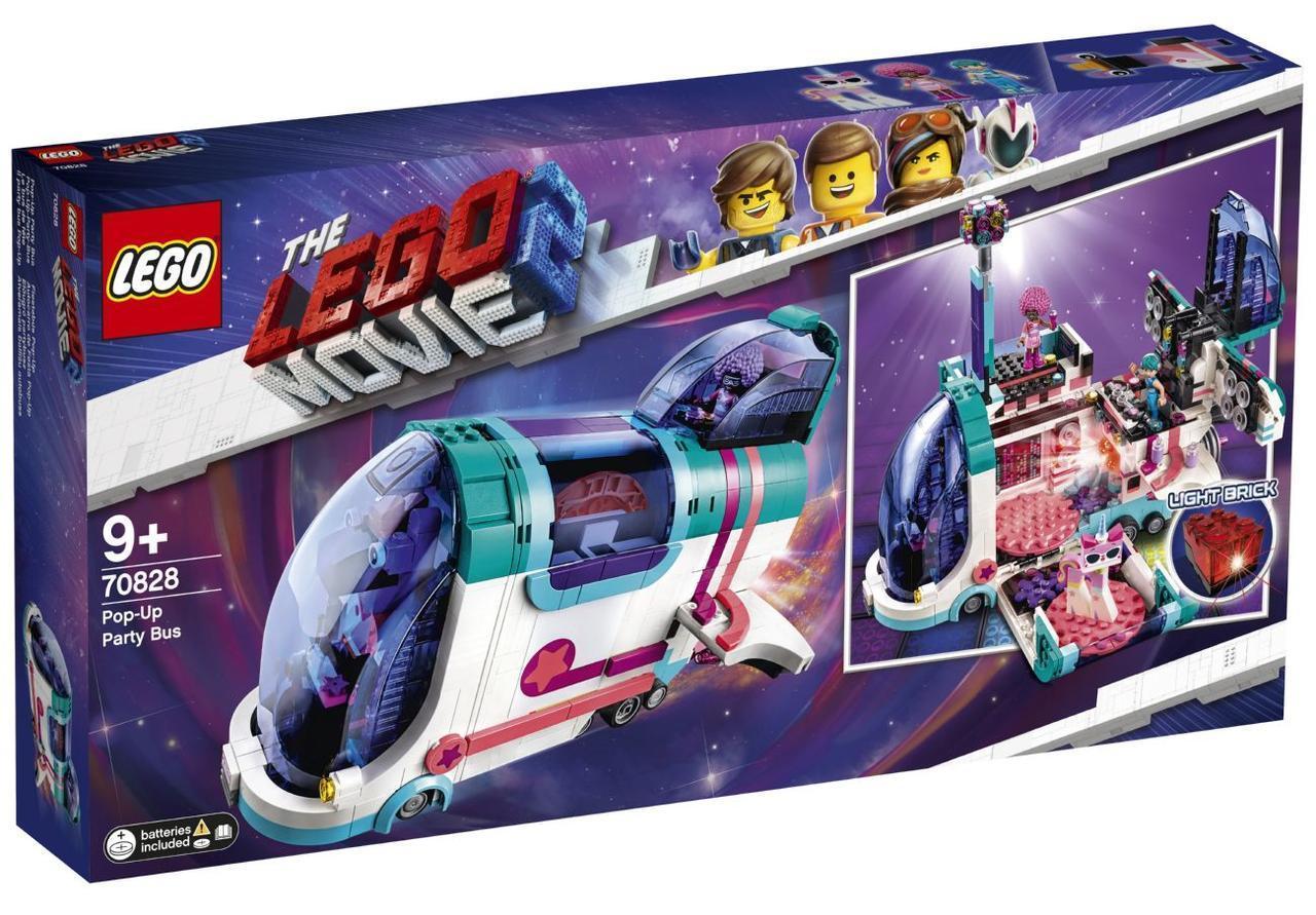 Lego Movie 2 Автобус для вечеринки 70828