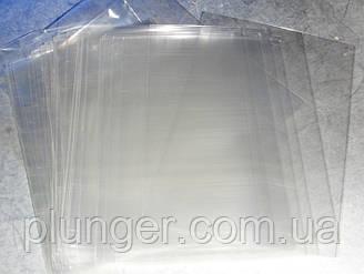 Упаковка поліетиленова прозора з широким дном, 15х25см (ціна за 20 шт)