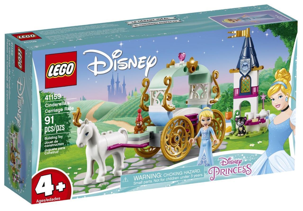 Lego Disney Princesses Карета Золушки 41159