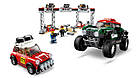 Lego Speed Champions Автомобили 1967 Mini Cooper S Rally и 2018 MINI John Cooper Works Buggy 75894, фото 4