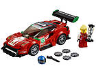 "Lego Speed Champions Феррари 488 GT3 ""Scuderia Corsa"" 75886, фото 4"