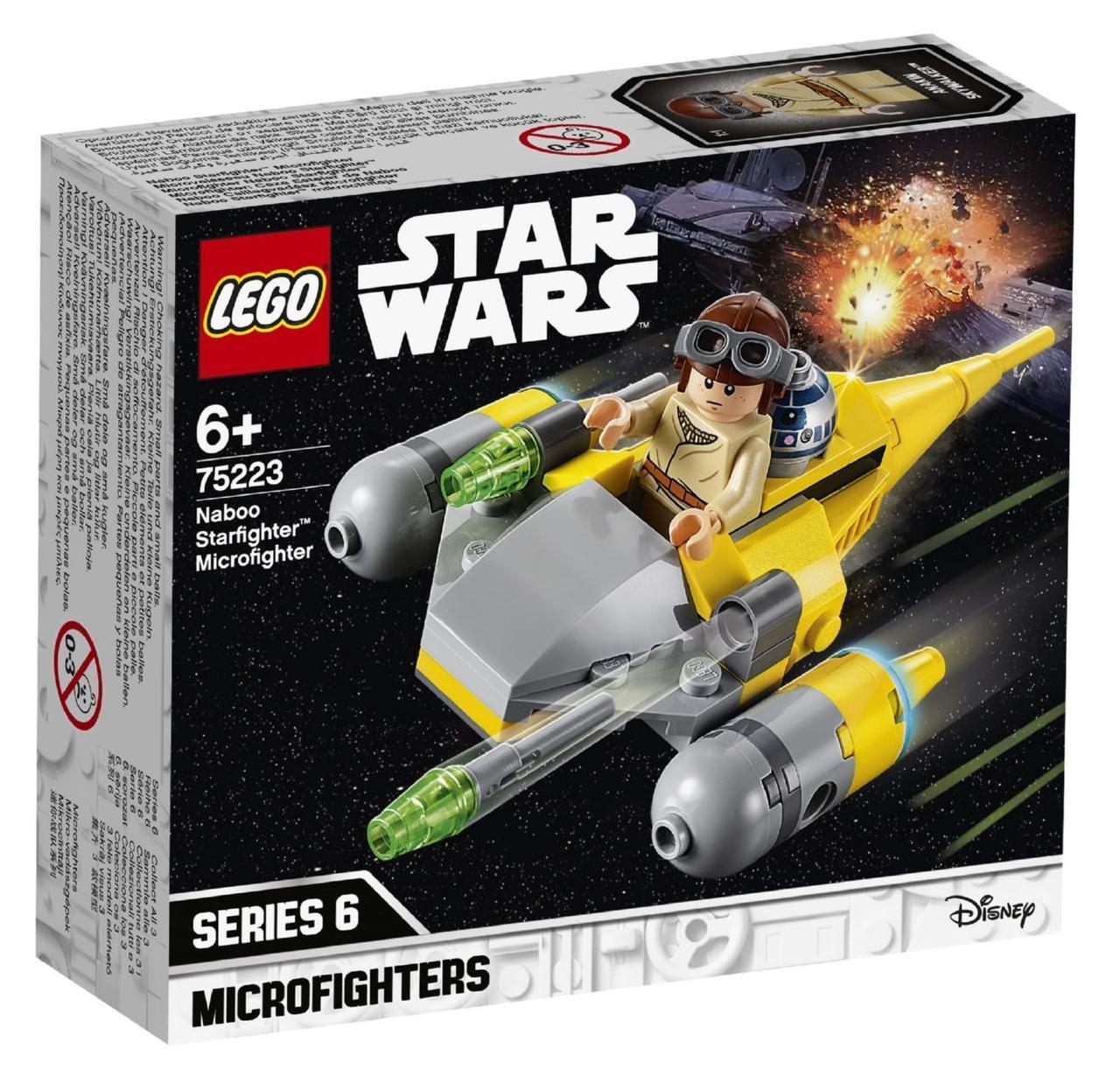 Lego Star Wars Микрофайтеры: Истребитель с планеты Набу 75223