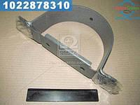 ⭐⭐⭐⭐⭐ Кронштейн опоры карданный вала ЗИЛ 130 в сборе (усиленный хомут) (производство  Украина)  164А-2202082-Б
