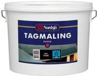 Краска для шифера Nordsjo TAGMALING  чёрный, серый,мокка,шведский красный (Швеция) 10л