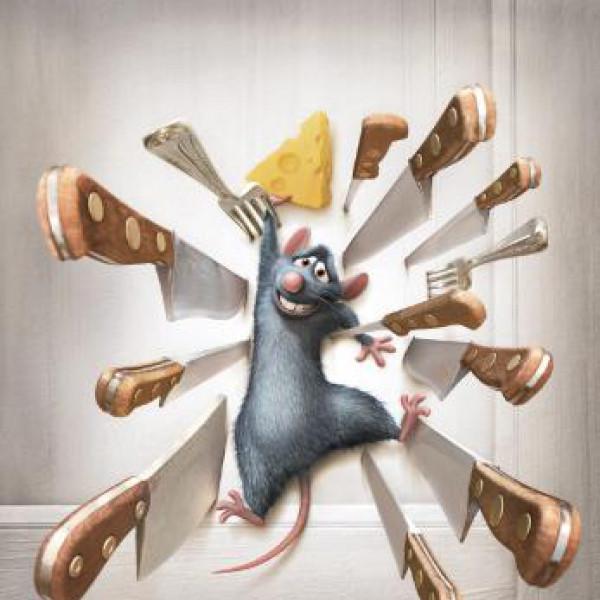 Коврики для мышки Pod Myshkou Рататуй