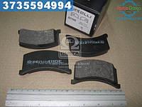 ⭐⭐⭐⭐⭐ Колодки тормозные ЗАЗ 1102 передние (комплект 4шт.) (производство  Intelli)  D110E