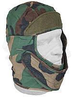 Шапка зимняя камуфляж  U.S.A. Woodland Camouflage, фото 1