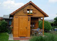 Реставрация старого дачного домика из древесины