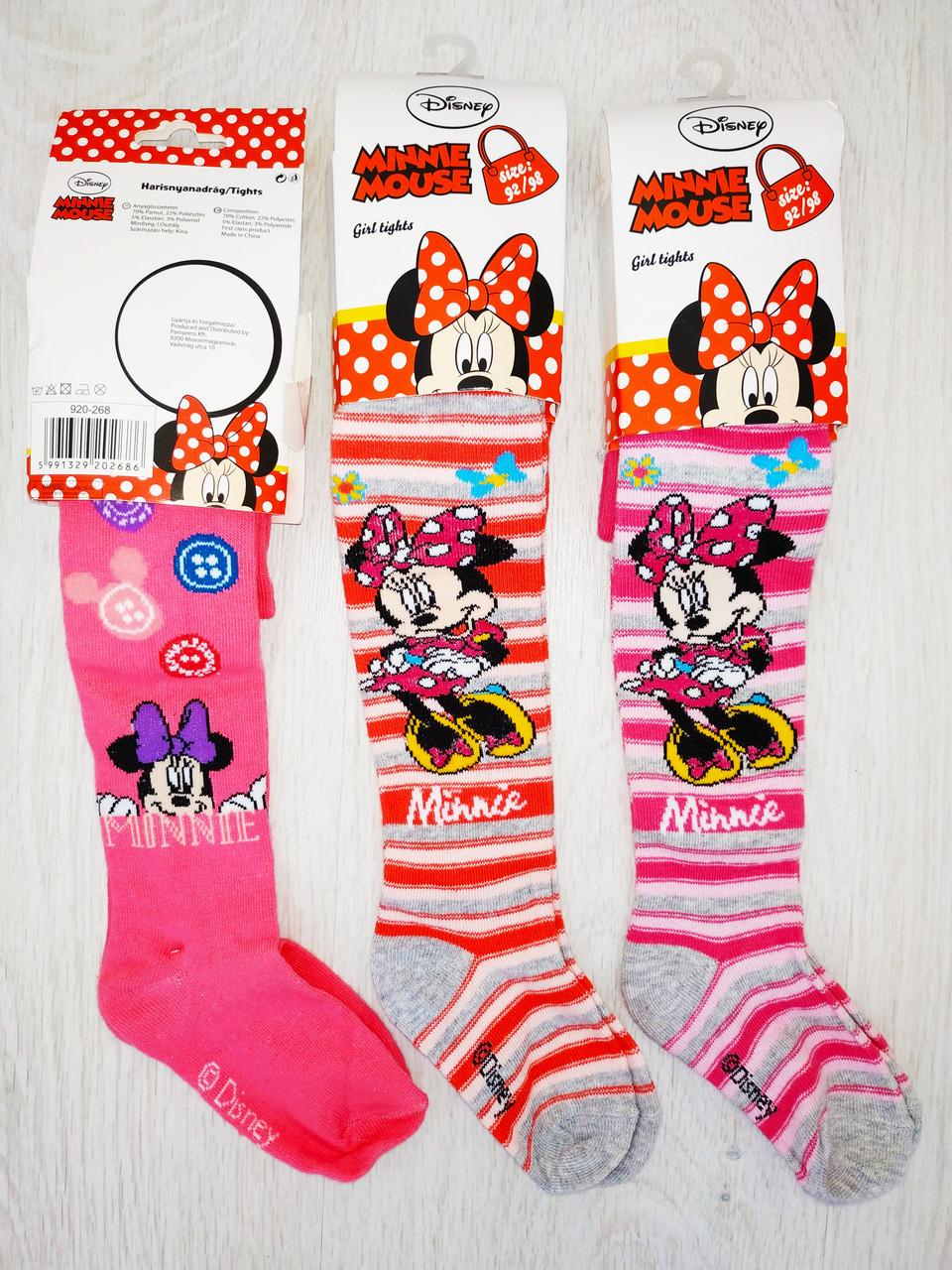 Детские колготки для девочки, Disney, Венгрия, рр. 92-98, арт. 0820,